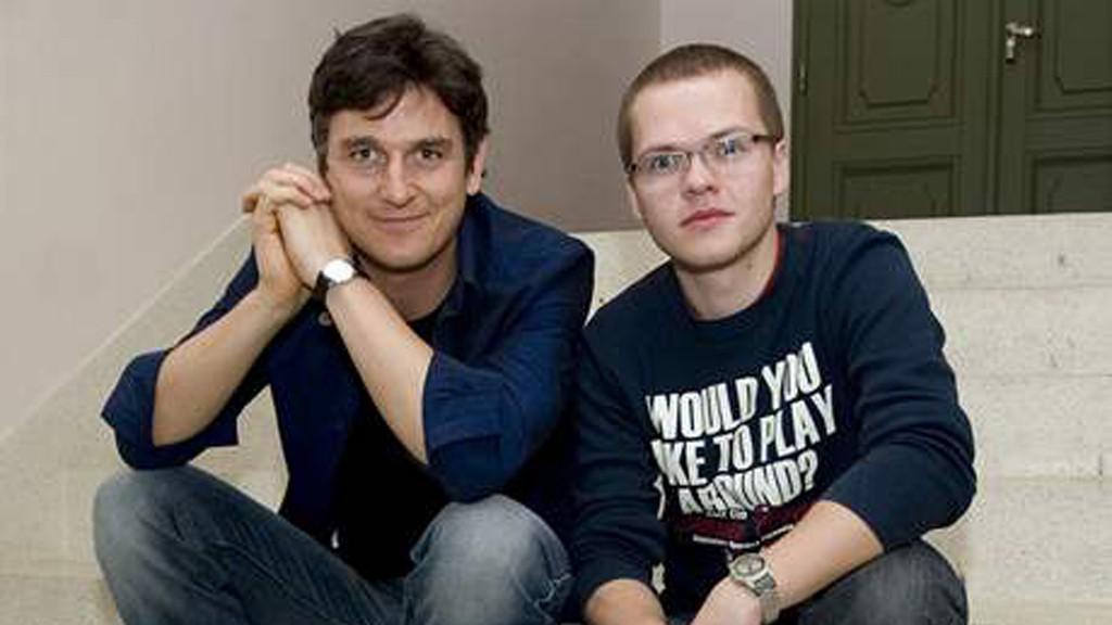 Lumír Olšovský a Pavel Bár -autoři libreta