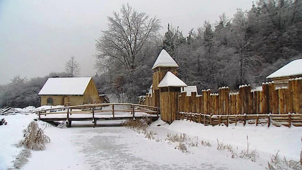 Středověká vesnice Fantasy