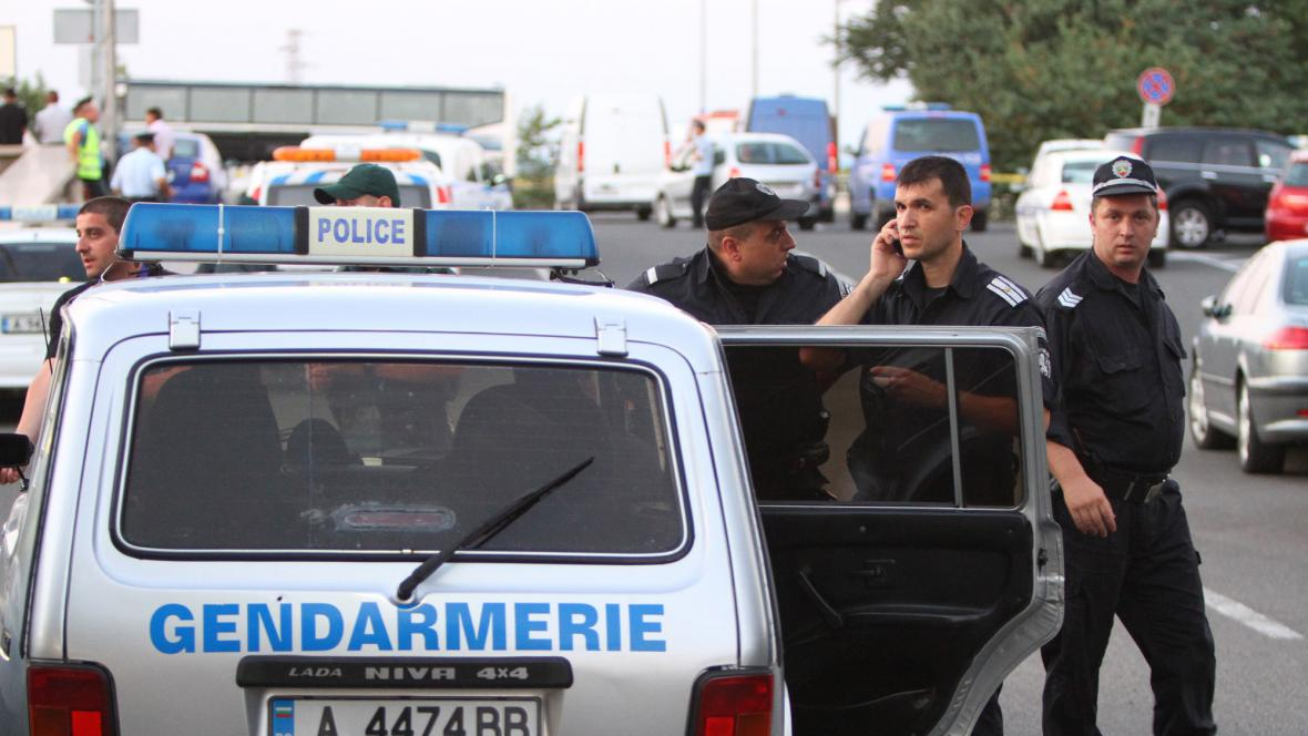 Bulharští policisté