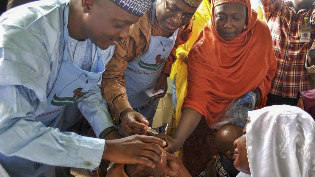 Očkování proti dětské obrně v Nigérii