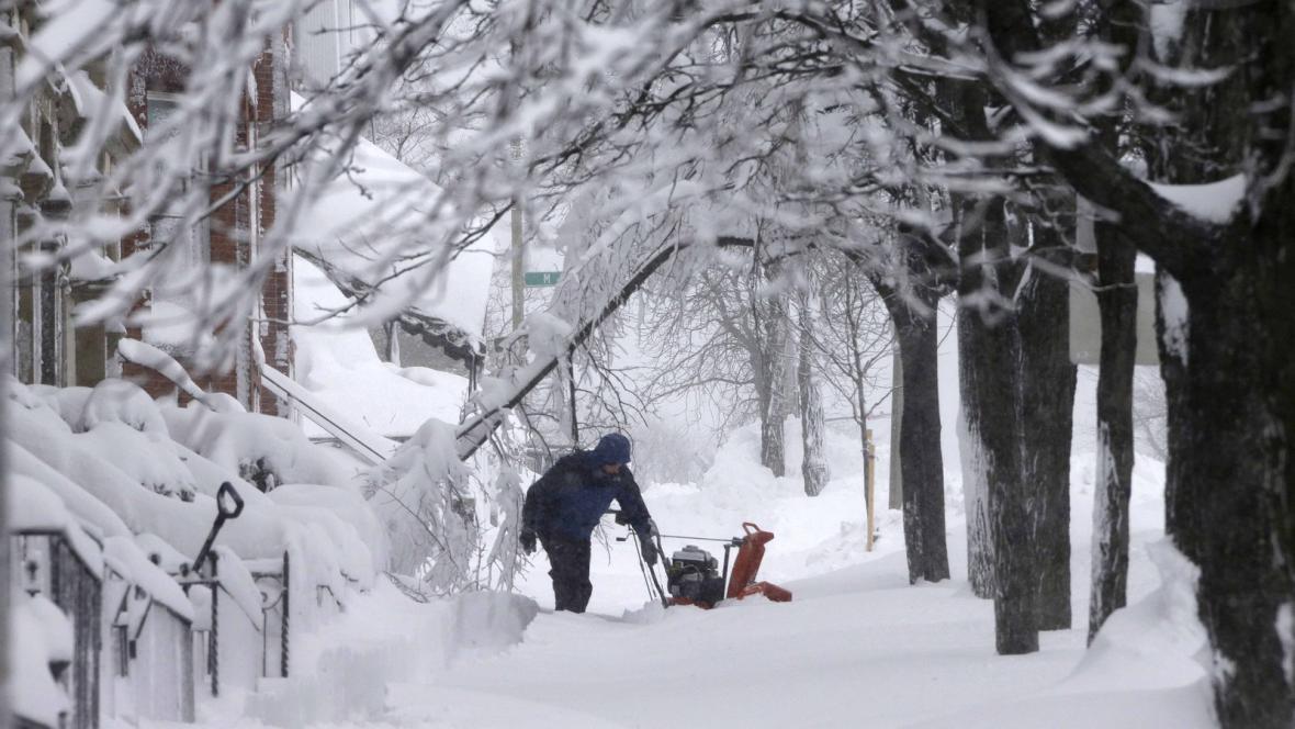 Sněhová bouře Nemo
