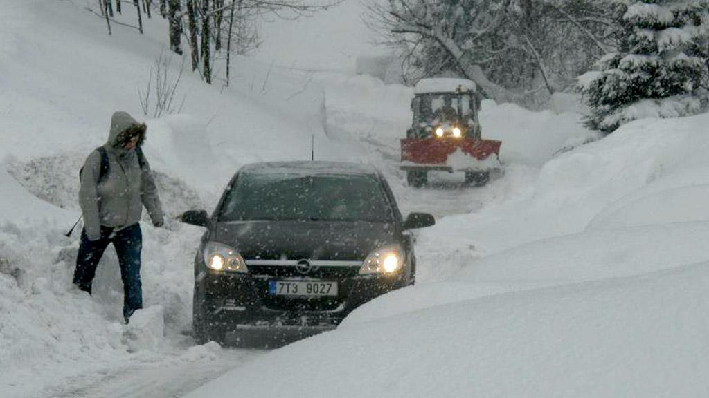 Horní Bečva, Beskydy - 16. 2. 2012, 10:02