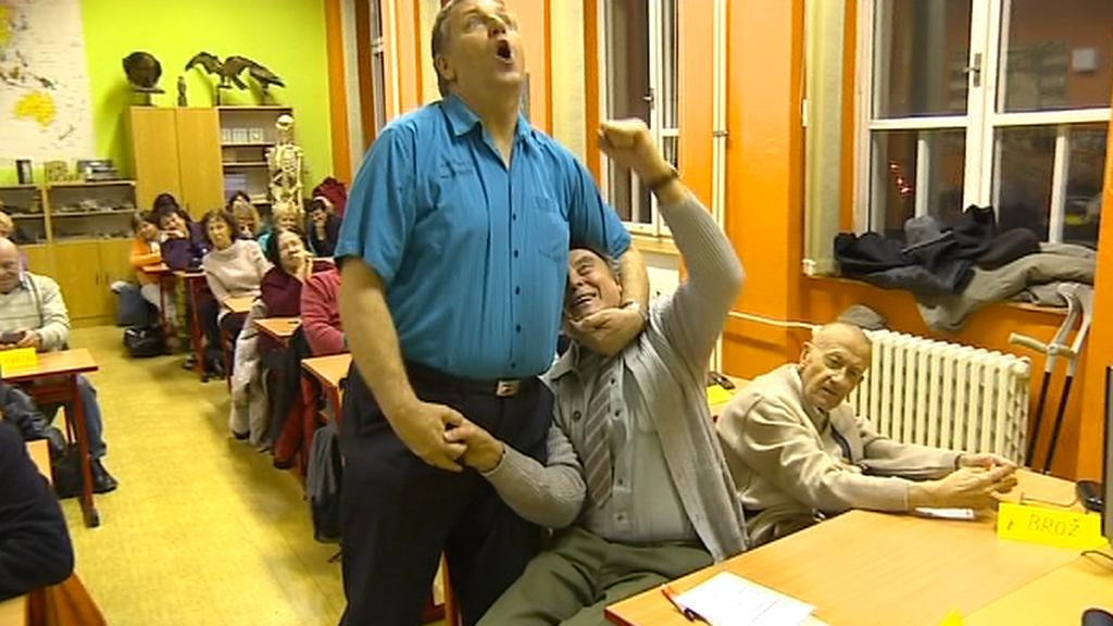 Policejní akademie pro seniory v Jihlavě