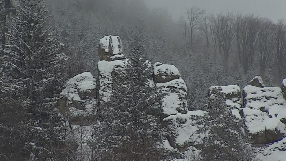 Čertovy skály u Lidečka lákají turisty i horolezce
