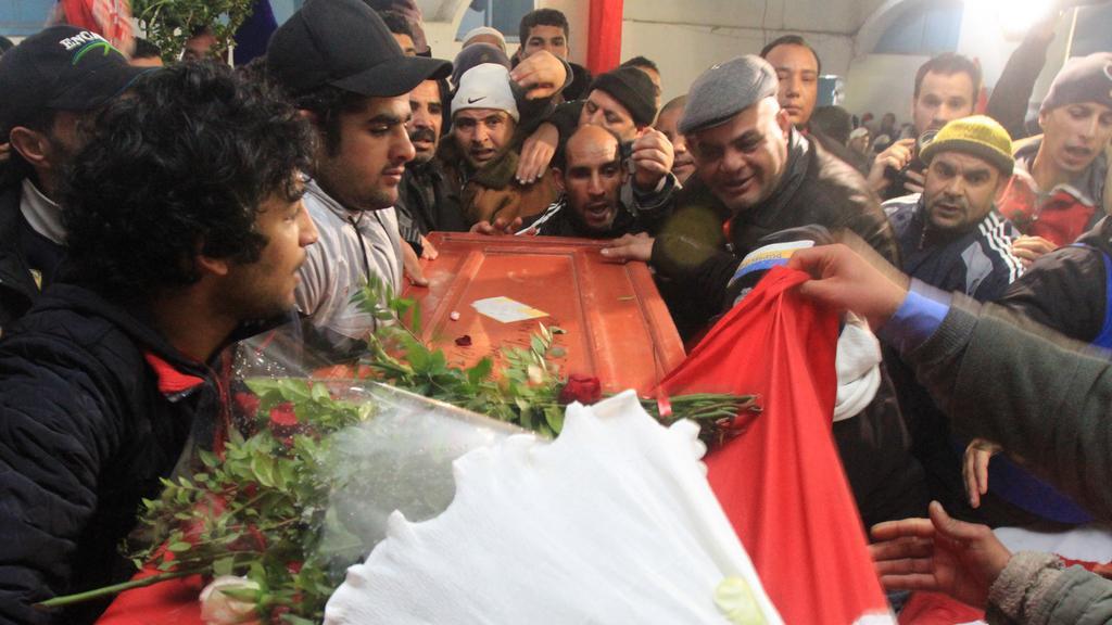 Pohřeb Šukrího Bilajda