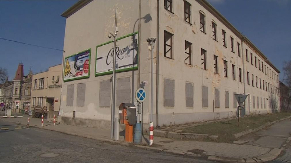 Budova bývalé nádražní polikliniky v Břeclavi