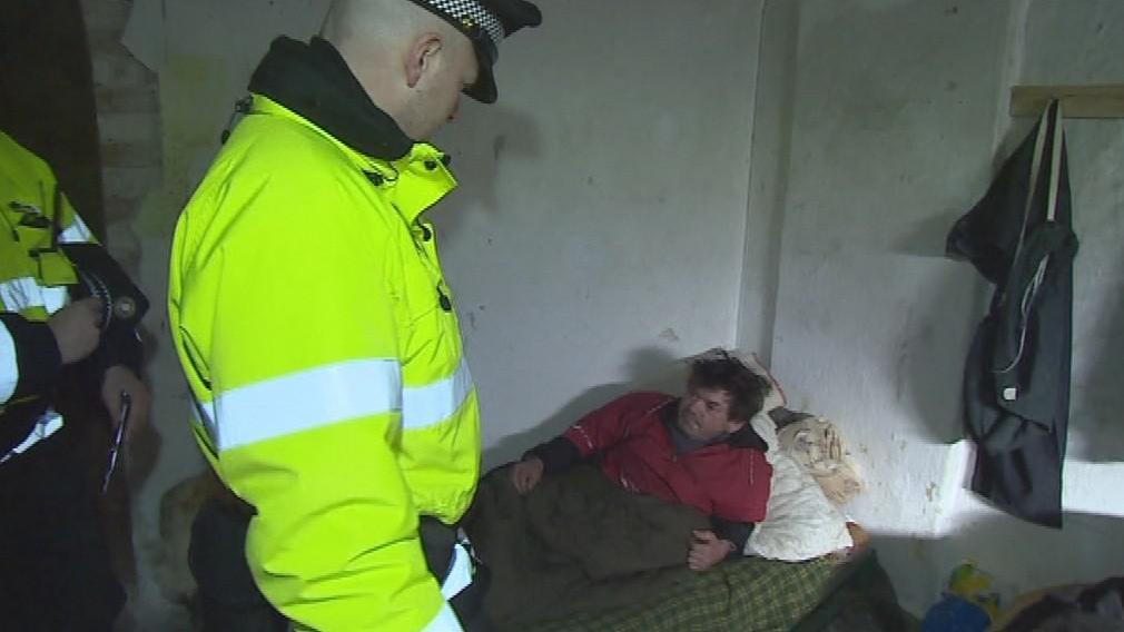 Z bývalé polikliniky zmizelo na třicet bezdomovců
