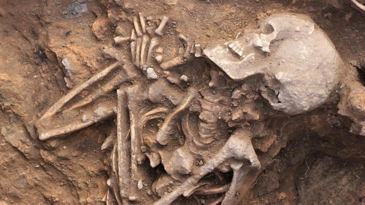 Žena žila pravděpodobně 1 500 let př. n. l.