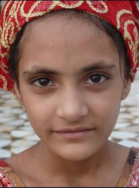 Indická dívka