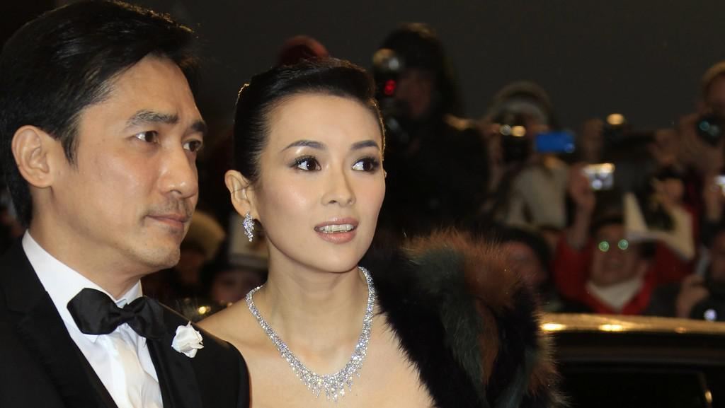Tony Leung a Čang C'-i