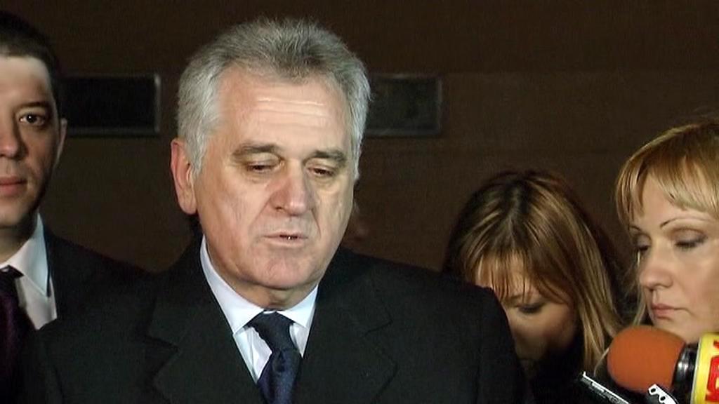 Tomislav Nikolić po bruselském jednání s prezidentkou Albánie