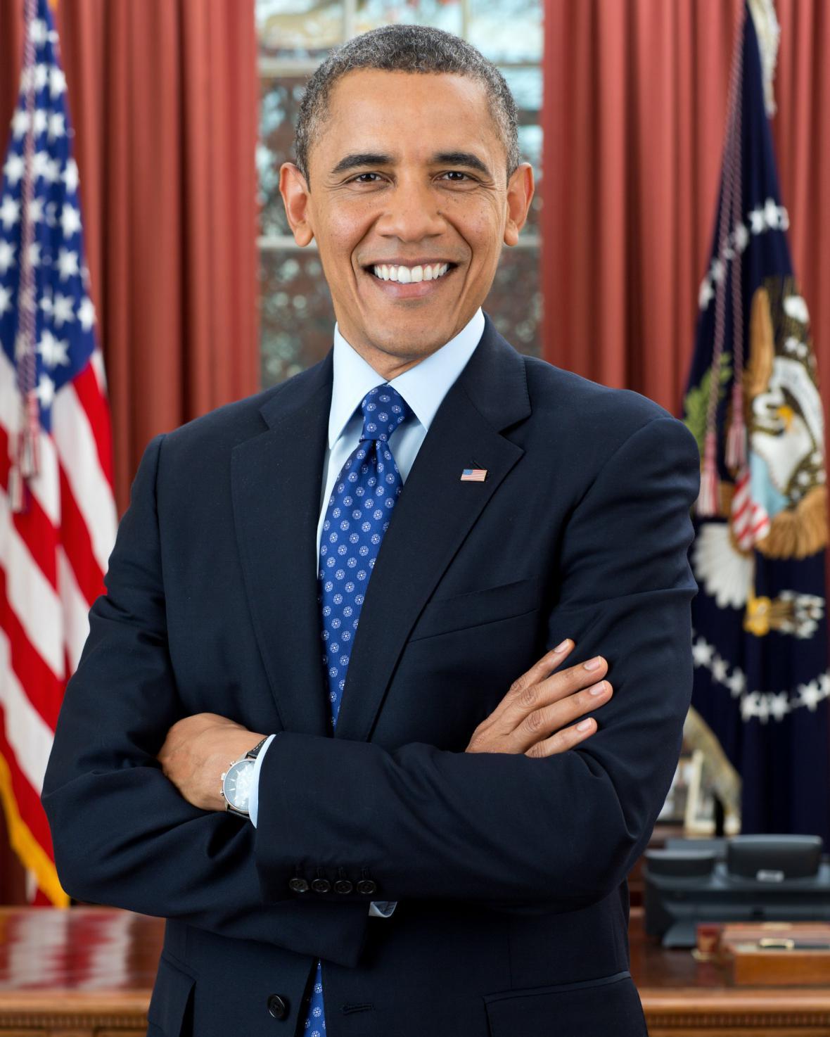 Barack Obama - oficiální portrét