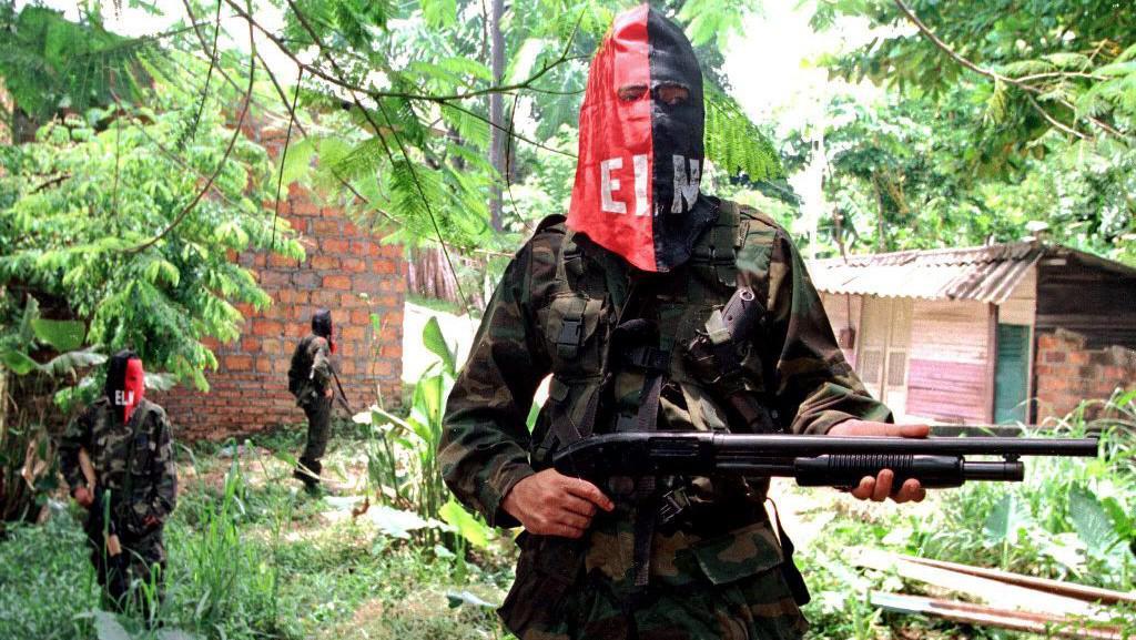 Povstalci z guerillové organizace ELN