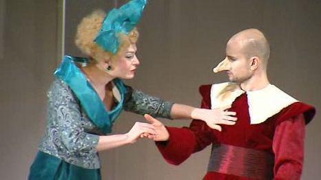 Cyrano z Bergeracu u Bezručů