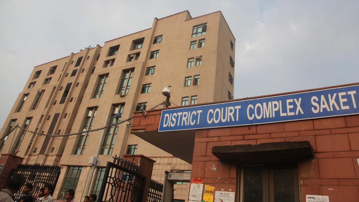 Soud, kde probíhá proces s násilníky