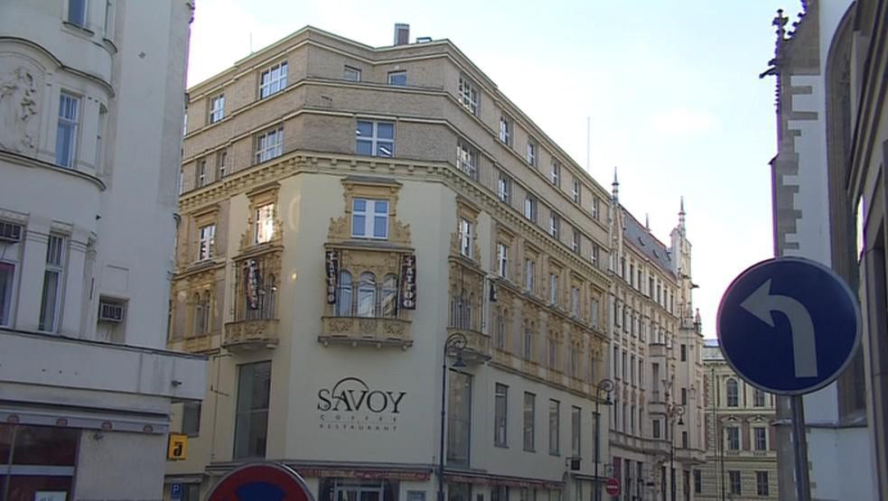Kavárna Savoy v centru Brna