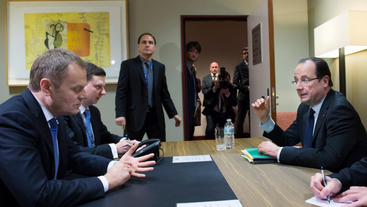 Jednání před summitem EU k rozpočtu