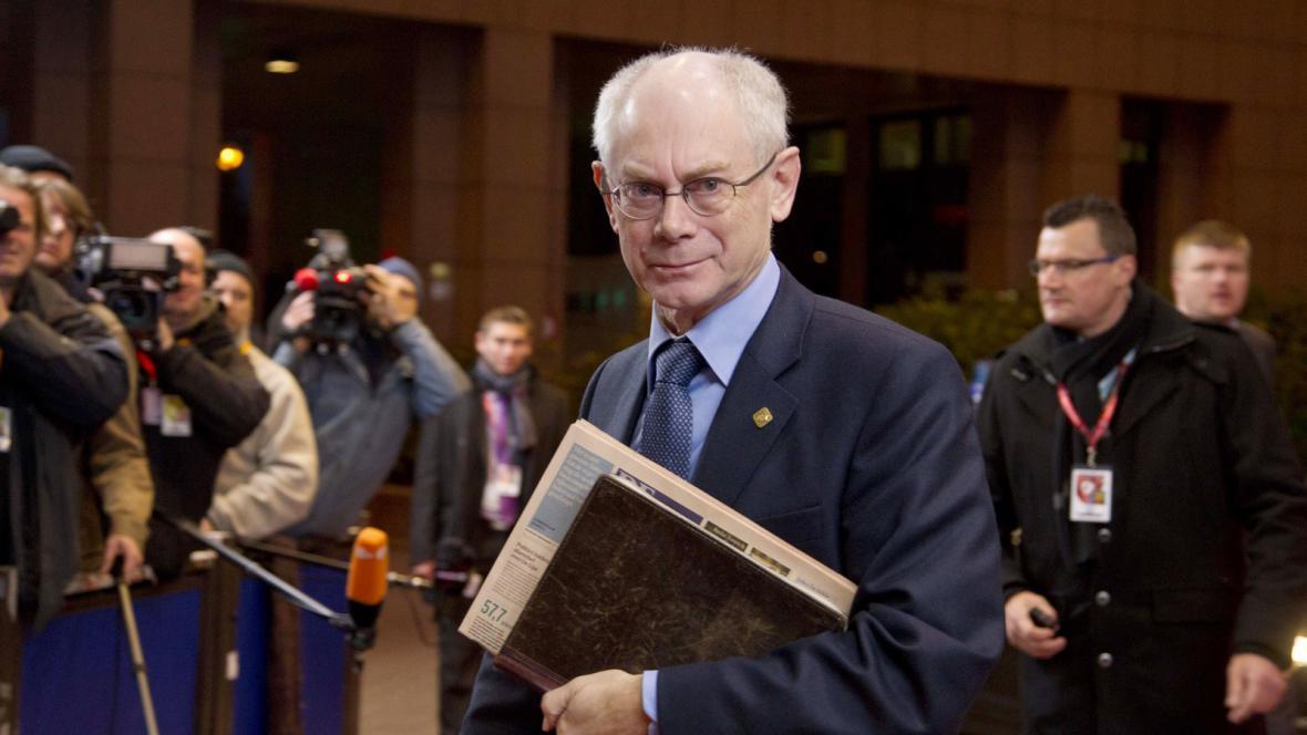 Prezident EU Herman Van Rompuy