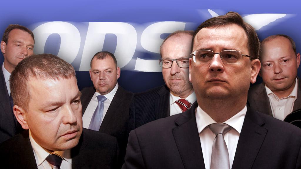 Petr Nečas a rebelové z ODS