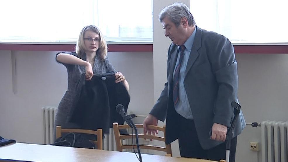 Na finální soudní líčení dorazil i obžalovaný účetní Vítězslav Bárta