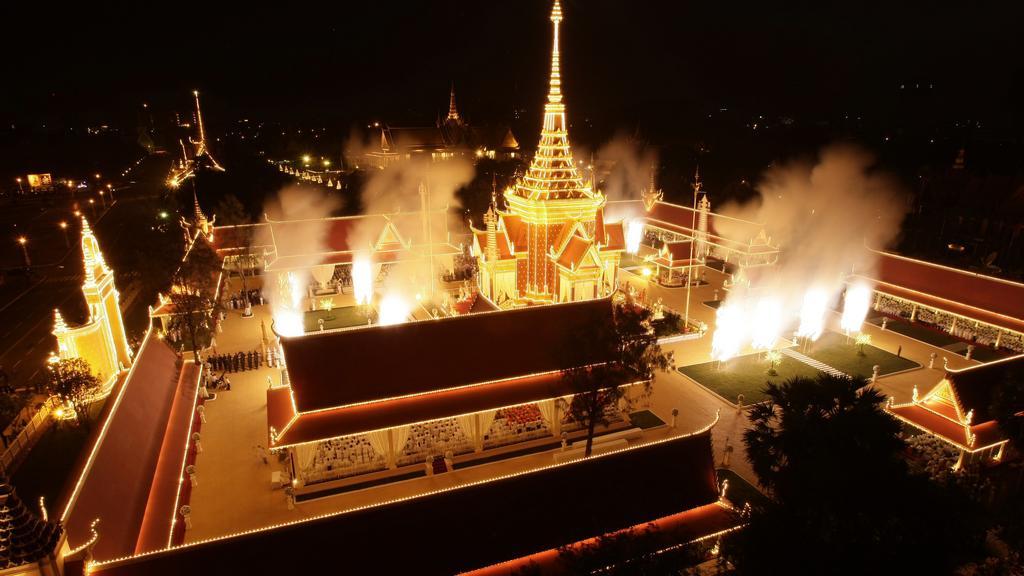 Kremace kambodžského krále Sihanuka