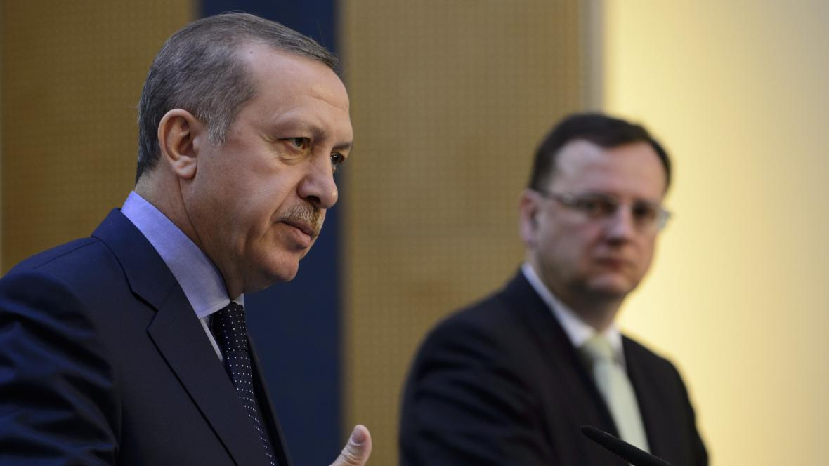 Předseda turecké vlády Erdoğan