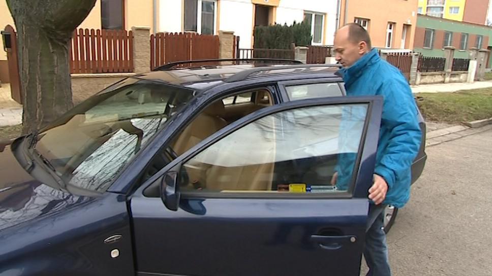 Majitel vozu Tomáš Czopnik