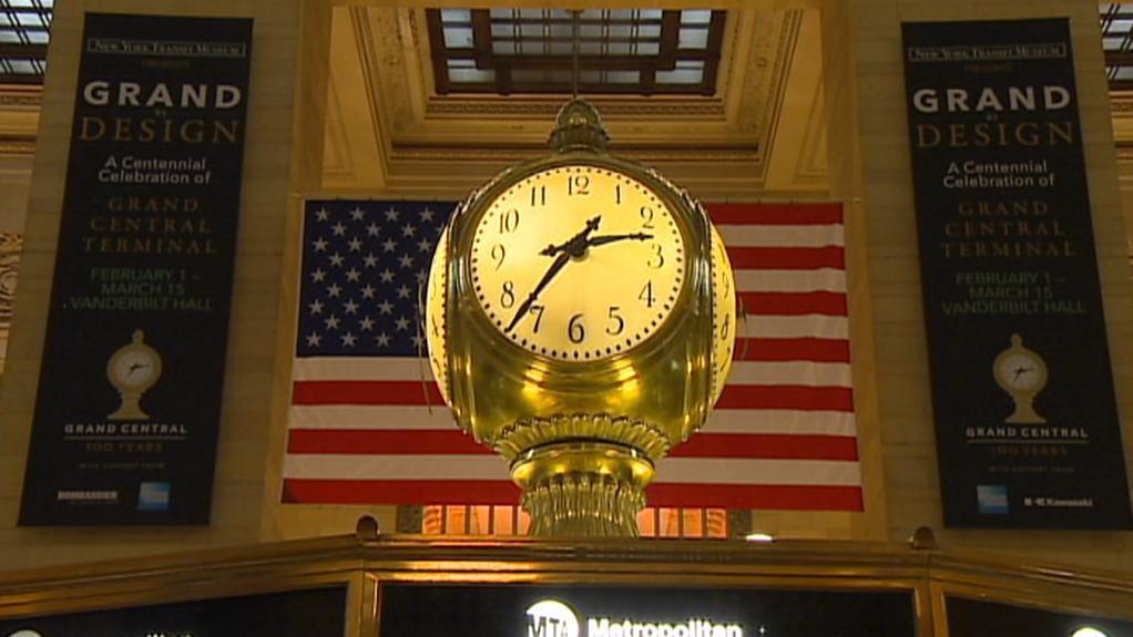 Nádraží Grand Central v NY