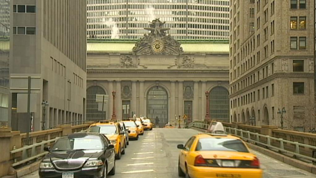 Pohled na nádraží Grand Central