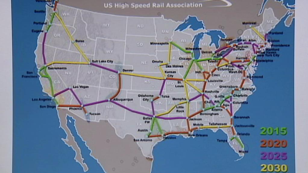 Plány na rozvoj železniční dopravy