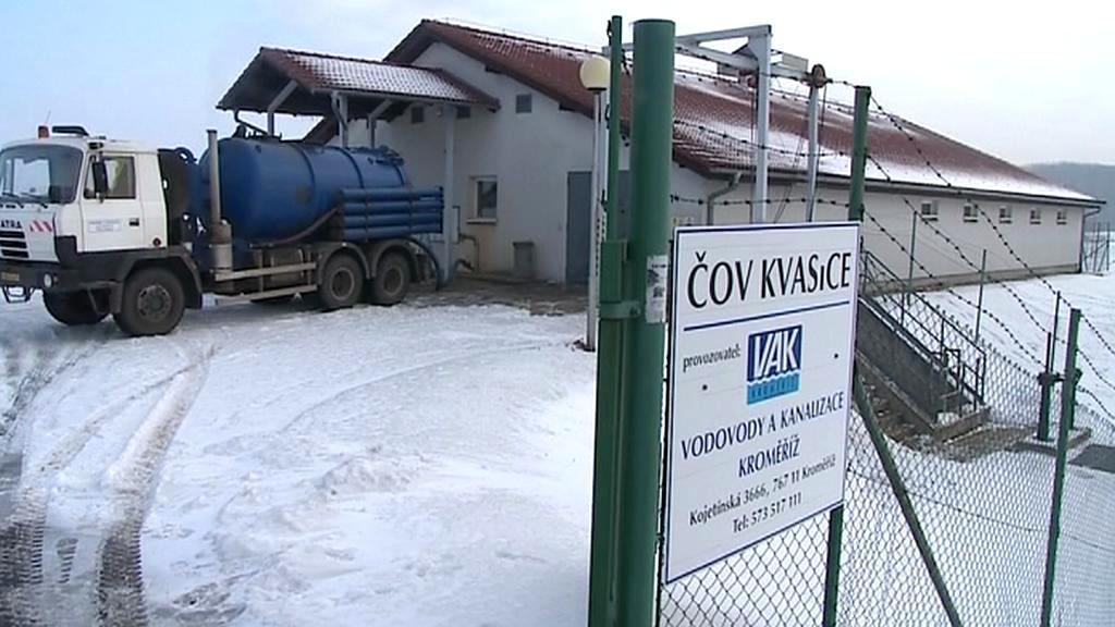 Čistírna odpadních vod Kvasice