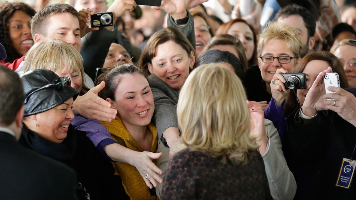Hillary Clintonová se rozloučila se zaměstnanci ministerstva zahraničí