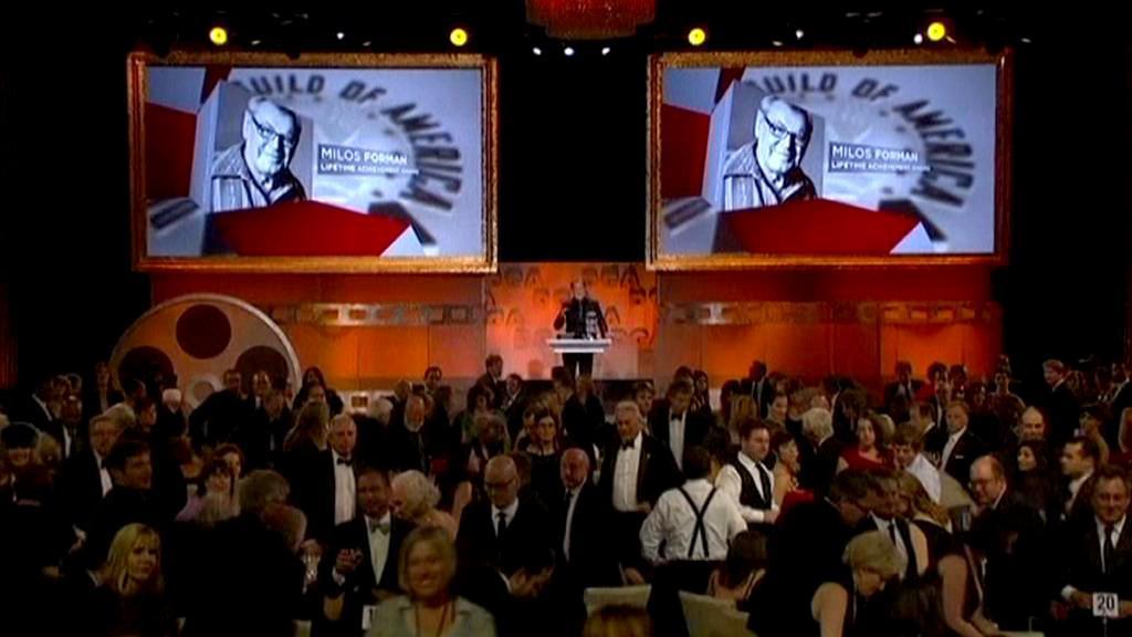 Sdružení amerických režisérů ocenilo Miloše Formana