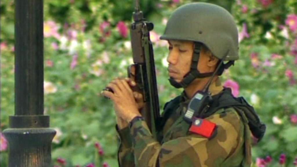 Barmský voják
