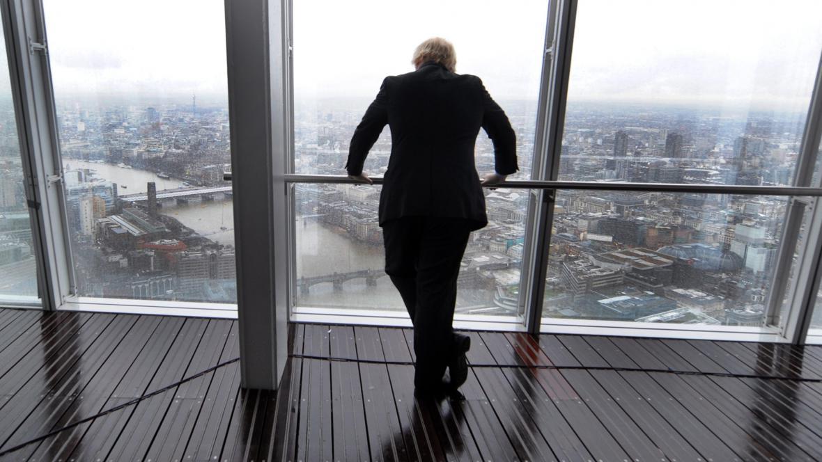 Starosta Londýna Boris Johnson otevřel vyhlídku na Střepu