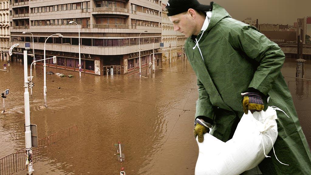 Záplavy ve městě