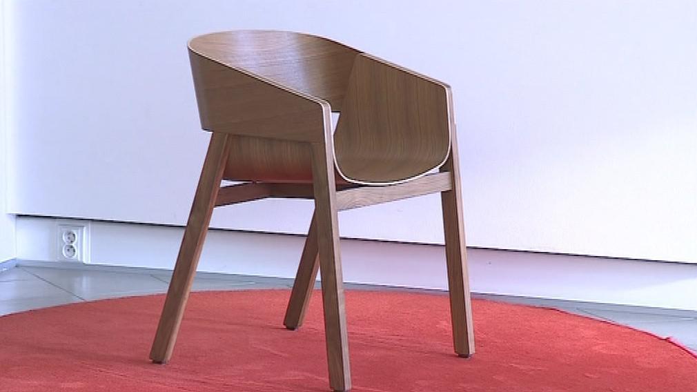 Oceněné dřevěné křeslo Merano