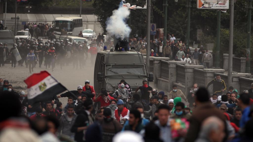 Násilné střety v Káhiře