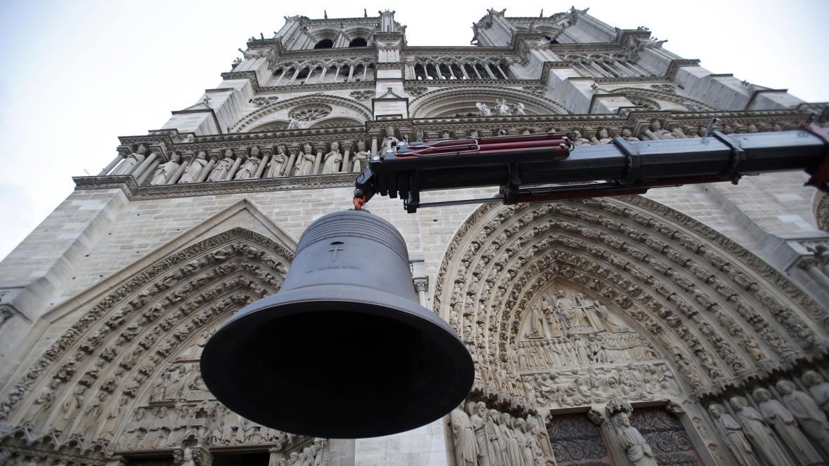 Nový zvon pro Notre-Dame