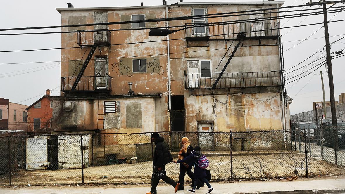 Následky hurikánu Sandy v New Yorku jsou stále znát
