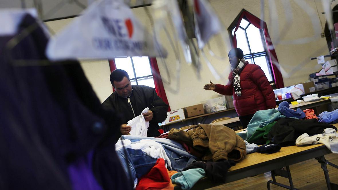 Krizové centrum nabízí pomoc pro oběti hurikánu Sandy