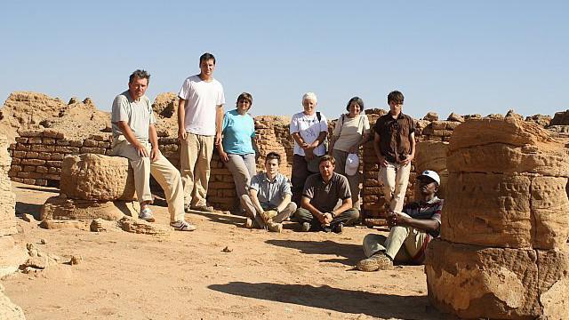 Členové archeologické expedice do Wad Ben Naga