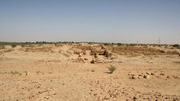 Palác královny Amanišacheto ve Wad Ben Naga