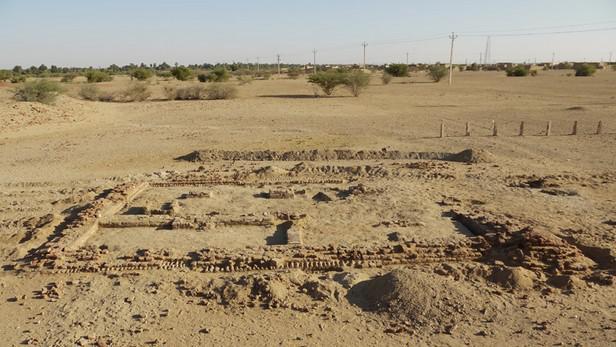 Základy malého chrámu ve Wad Ben Naga