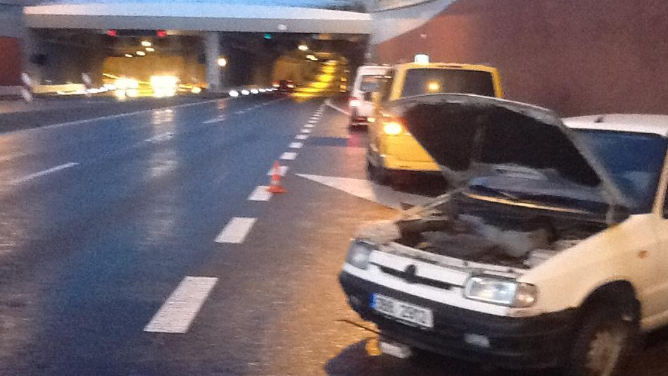 Nehoda u Královopolského tunelu