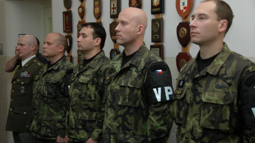 Ocenění příslušníci vojenské policie