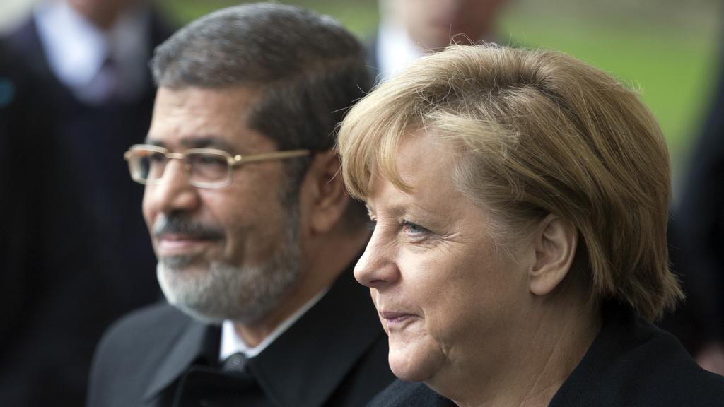 Prezident Mursí na návštěvě Německa