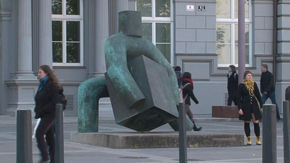 Socha symbolizující Spravedlnost