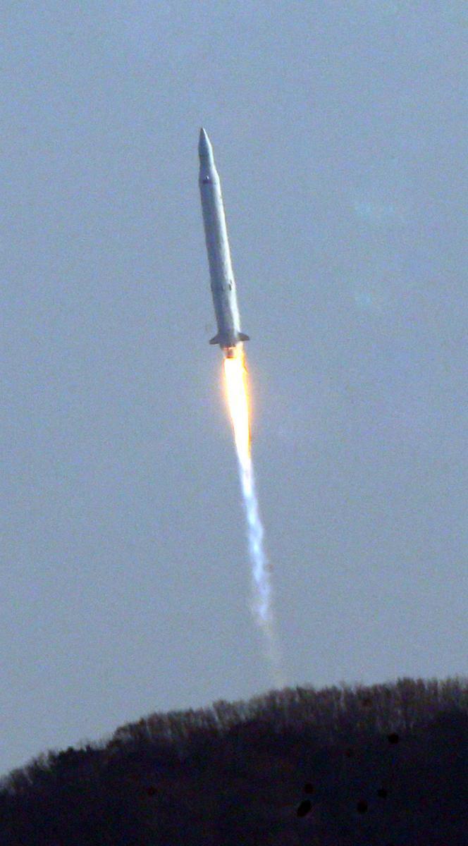 Start jihokorejské rakety