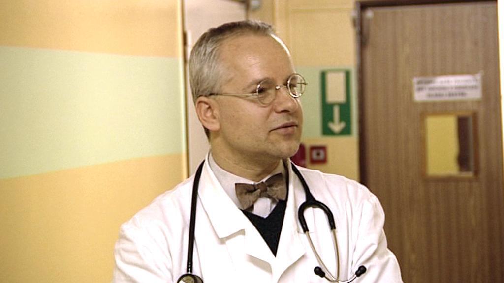 Primář interního oddělení karlovarské nemocnice Jaroslav Žák